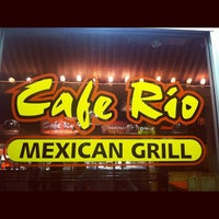 Photo taken at Cafe Rio Mexican Grill by Debbie G. on 11/7/2012