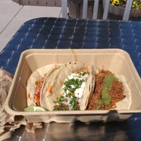 Photo taken at Blue Route Taco Truck by Chris A. on 4/5/2013