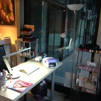 Photo taken at Dina's Nail Place by Kristina S. on 8/26/2013
