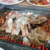 Photo taken at Daessiksin Korean BBQ Buffet by Joanna T. on 7/8/2016