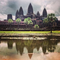 Photo taken at Angkor Wat by Joanna T. on 8/9/2013