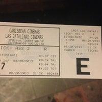 Photo taken at Caribbean Cinemas by José Bayoán S. on 8/21/2013