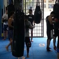 Photo taken at Gibi Thai Fight Team by Adriana L. on 2/15/2013