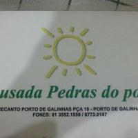 Foto tirada no(a) Pousada Pedras do Porto por Leandro G. em 3/9/2013