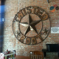 Photo taken at Twisted Root Burger Company by Debbie L. on 3/31/2013