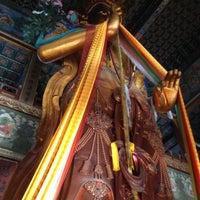 Photo taken at Yonghegong Lama Temple by Jeffrey Yeo on 12/7/2012