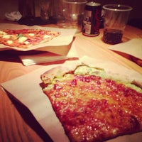 Photo taken at Pizza Poselli by Anna G. on 3/27/2013