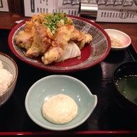 Photo taken at ホルモン・もつ鍋 とんちゃん by Munetoshi H. on 10/6/2014