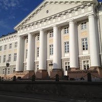 Photo taken at University of Tartu main building by Konstantin K. on 5/9/2013