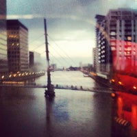 Photo taken at Canary Wharf by Anna K. on 10/30/2012