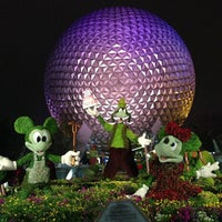 Photo taken at Epcot by HIK on 5/4/2013