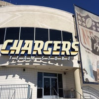 Photo taken at Chargers Team Store by HIK on 9/9/2014