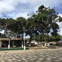 Photo taken at Parque Central de La Cruz by Francisco D. on 9/18/2016