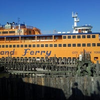 Photo taken at Staten Island Ferry - St. George Terminal by Rajeev K. on 11/18/2012