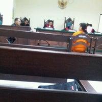 Photo taken at Pengadilan Negeri Balikpapan by Rio R. on 10/11/2012