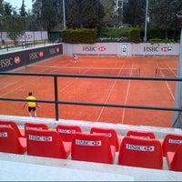Photo taken at Filothei Tennis Club by Ion I. on 3/31/2013