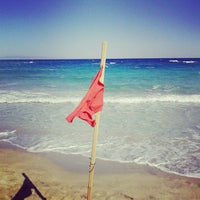 Photo taken at Fig Tree Bay by Eu G. on 10/8/2013