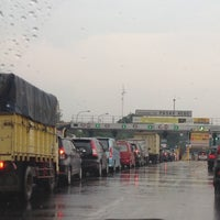 Photo taken at Gerbang Tol Pasar Rebo by Ariesta K. on 11/14/2012