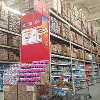 Photo taken at LotteMart Wholesale by Ariesta K. on 3/19/2013