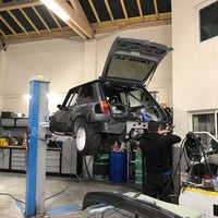 Photo taken at Garage Villefranche Auto by Caner S. on 1/26/2018
