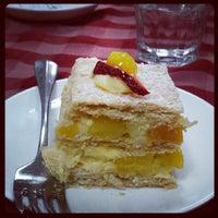 Photo taken at Mimosa Patisserie by weenee c. on 9/15/2013