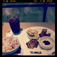 Photo taken at Café & Meal MUJI by weenee c. on 7/2/2013