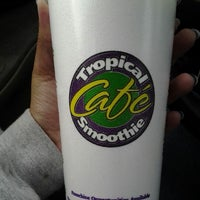 Photo taken at Tropical Smoothie by Gypsy G. on 5/10/2013