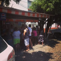 Photo taken at Marisma Fish Taco - Vallarta Centro by Liam S. on 4/18/2014