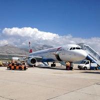 Photo taken at Dubrovnik Airport (DBV) by chibirashka k. on 9/17/2012