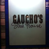 Photo taken at Gaucho's Steak House by Francisco H. on 1/23/2013