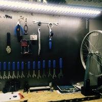 Photo taken at Elektronio Bike Lab & Showroom by Anna C. on 1/11/2016