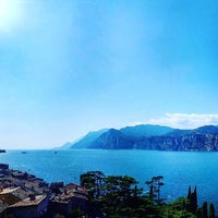 Photo taken at Beach Malcesine by Luca P. on 9/8/2016