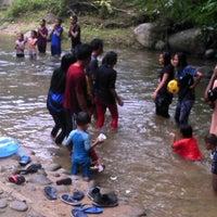 Photo taken at Sg. Congkak Waterfall by Arina A. on 12/30/2012