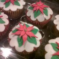 Photo taken at Destino Cupcakery by Erika C. on 12/11/2012