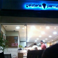 Photo taken at Gelateria Parmalat by Jared B. on 10/28/2012