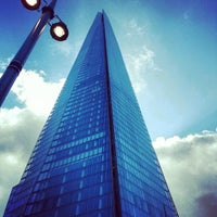 Photo taken at The Shard by Florian J. on 10/14/2012