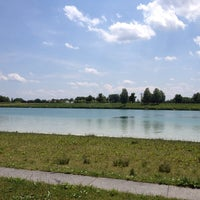 Photo taken at Riemer See by Adrian on 7/2/2013