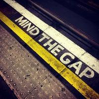 Photo taken at Clapham North London Underground Station by Simon S. on 7/28/2013