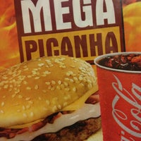Photo taken at Mega Burger's by Fabian S. on 3/26/2013