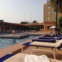 Photo taken at Azalai Hotel Independance Ouagadougou by Olya P. on 10/18/2013