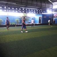 Photo taken at Udayana Futsal Centre (UFC) by Bambang Juni Wartono on 8/29/2014