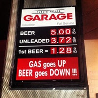 Photo taken at The Garage Public House by Wade P. on 5/25/2013