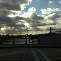 Photo taken at South Street Bridge by Johanna B. on 12/30/2012