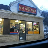 Photo taken at franklin fast food mart by Jack F. on 2/21/2013