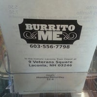 Photo taken at Burrito Me by Jack F. on 6/8/2013