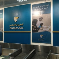 Photo taken at Oman Air Check-in by Ira N. on 8/28/2013
