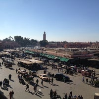 Photo taken at Place Jemaa el-Fna by vexerina C. on 12/16/2012