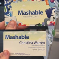 Das Foto wurde bei Mashable HQ von Christina W. am 8/9/2016 aufgenommen