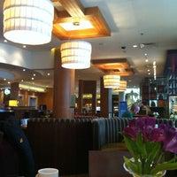 Photo taken at Sheraton Poznan Hotel by Ugur C. on 3/22/2013