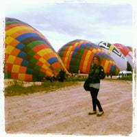 Photo taken at Ürgüp Hot Air Balloons by Derya A. on 5/12/2013